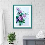Jo Haran Drenched Chrysanthemum Wychwood Art10-68654786