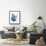 Jo Haran Drenched Chrysanthemum Wychwood Art8-7ca424d1