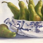 Marie Robinson Pear Overboard detail 2 Wychwood Art-105cf041