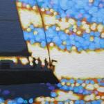 sailing the sparkling sea. gordon hunt. wychwood art. close up-4b4d02f3