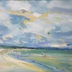 stephen kinder beach with changing sky close up wychwood art-382df2b7