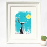 whale_whisperer_framed_whale_watching_tail_ocean_screenprint_katie_edwards_illustration_art-ac3c26ca