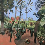 Elaine Kazimierczuk Majorelle Gardens with Palms-609381c3
