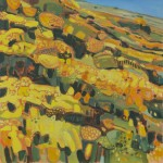 Elaine Kazimierczuk Wind across the Gorse II, Menstrie Glen, Ochil Hills Wychwood Art-48890d0c