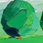 Georgie Dowling Green Trees Wychwood Art. 02-47c2a9bd