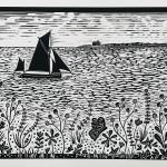 Joanna Padfield Sailing at Blakeney Point Wychwood Art 5-58da3604