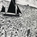 Joanna Padfield Sailing at Blakeney Point Wychwood Art 6-603838e2