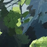 Margaret Crutchley Into the Shadows  Wychwood Art – Close up-7a0d3099