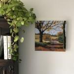 Margaret Crutchley  Last Leaves  Wychwood Art  In situ 1-4e5eec00