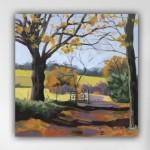 Margaret Crutchley  Last Leaves  Wychwood Art  White Wall-81f9ff1b