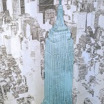 Michael Wallner_Empire State (blue, from helicopter)_aluminium_wychwood art-e16800a9