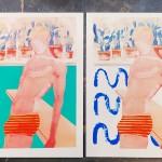 Pool boy aqua, Wychwood art, G Dobson 10-3ca1cd14