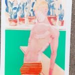 Pool boy aqua, Wycwood Art, G Dobson 2-63f03891