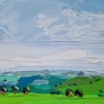 Purple fields Georgie Dowling Wychwood Art 07-1d6c90d2
