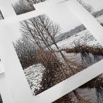 Snowy Riverbank close up group-c4eb56ab