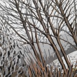 Snowy Riverbank closer up-0d524652