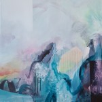 The Way Things Were 95 x 85cm acrylic on canvas Claire Chandler-9051cb6b