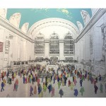 Wallner_Michael_Grand_Central_Station_brushed_aluminium_white border_wychwood art-bda9e864