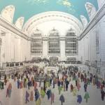 Wallner_Michael_Grand_Central_Station_brushed_aluminium_wychwood art-bcc621de