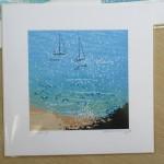 anchored up. Gordon Hunt. Wychwood art. limited edition-e3d70e12