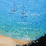 anchored up. Gordon Hunt. Wychwood art. limited edition full image-a8d6e7d3