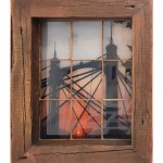 michael wallner_Albert Bridge Sunset (vintage window)_white background_wychwood art-db0532be