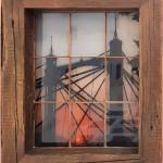 michael wallner_Albert Bridge Sunset (vintage window)_wychwood art-150166e9