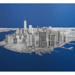 michael wallner_Manhattan From Above_aluminium_background_white wychwood art-2b04b3a9