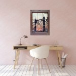 michael wallner_albert bridge sunset window_insitu_wychwood art-b3586873