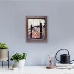 michael wallner_albert bridge sunset_vintage window_insitu 2_wychwood art-ab37c203
