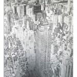 michael wallner_empire state building_silver_aluminium__white border_wychwood art-46edee70