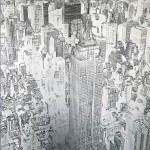 michael wallner_empire state building_silver_aluminium_wychwood art-960176ab
