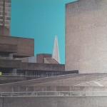 michael wallner_national theatre_blue sky_aluminioum_wychwood art-493a072a