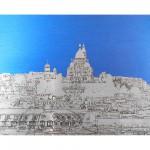 michael wallner_sacre coeur rooftops_aluminium_white background_wychwood art-d11ca61b