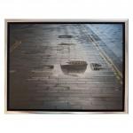michael wallner_st pauls in a puddle_white border_wychwood art-4ac1d6b2
