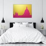michael wallner_st pauls pop art pink_white bedroom_wychwood art  1080-3fcb8094