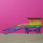 michael wallner_venice beach lifeguard hut pink_close up 1_wychwood-1bfd8d18