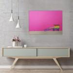 michael wallner_venice beach lifeguard hut pink_interior 2_wychwood art-b65ce305