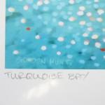 turquoise bay. Gordon Hunt. Wychwood art. limited edition named-a57bd880