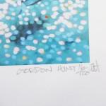 turquoise bay. Gordon Hunt. Wychwood art. limited edition signed-72af7238