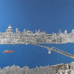 1.michael wallner_View From The Tate, brushed aluminium print, 137 x 84 cm, Edition of 25, £1350_wychwood art-2a4b453e