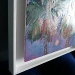 Alanna Eakin Bangkok palm tree oil painting corner of frame-07ecb608