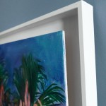 Alanna Eakin Bangkok palm tree oil painting frame detail-8a6a182c