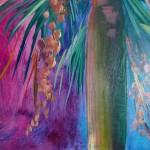Alanna Eakin Honolulu Palm Tree painting close up detail-927f3ad0