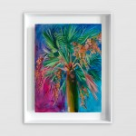 Alanna Eakin Honolulu Palm Tree painting on white wall-6d6bd1ee