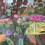 Elaine Kazimierczuk, Fun in the Garden, Again, Wychwood Art-40fb9e43