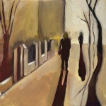 Eleanor Woolley | Street Shadow 1 | Landscape | Figurative | Expressionistic-b335de37