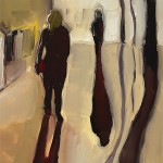 Eleanor Woolley | Street Shadows 1 | Landscape | Figurative | Expressionistic | Section-1-70fcc650