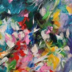 Mary Chaplin A ray of sunshine in Giverny (detail 4) Wychwood Art-d3783502
