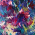 Mary Chaplin A ray of sunshine in Giverny (detail1) Wychwood Art-02184921
